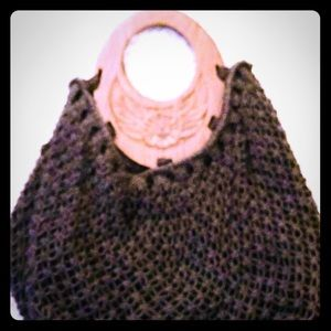 Handmade knit bag/purse
